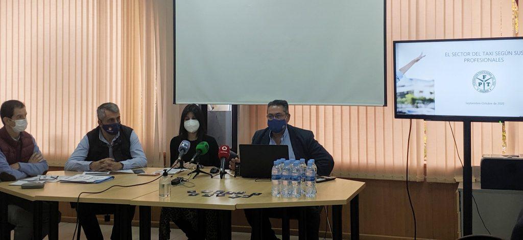 Pablo Casanueva, subdirector de investigación de Sigma Dos; José Miguel Fúnez, portavoz de la FPTM; Rosa Díaz, directora general de Sigma Dos; y Julio Sanz, presidente de la  FPTM